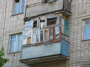 Балкон. Смешная история про ремонт.